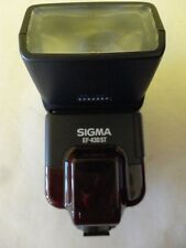 Sigma Shoe Mount Flash for Film Camera Model EF-430ST EF430ST Used Condition