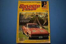 Corvette Fever Magazine February 1985 Issue
