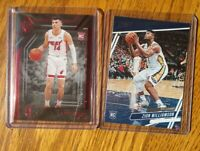 TYLER HERRO 2019-20 CHRONICLES MAJESTIC RED RC/149 & Zion Williamson Prestige
