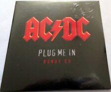 AC/DC - Plug Me In Bonus Single 2 Live Tracks (dog Eat Dog & Back In Black) -NEW