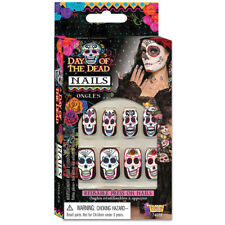 Day of the Dead False Nails