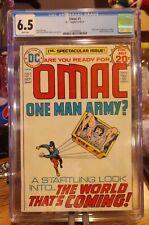Omac #1 (1974) CGC Graded 6.5 Origin & 1st App. Jack Kirby DC Comics