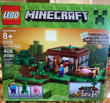 LEGO Minecraft The First Night 21115 Retired NEW
