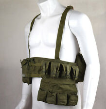 Vietnam War Chinese Pouch Chest-rig Bandolier Mag Ammo Pouch WWII