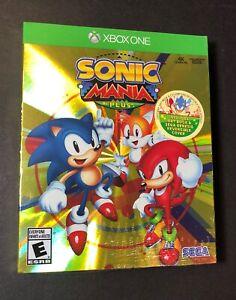 Sonic Mania Plus [ Bonus Edition ] (XBOX ONE) NEW