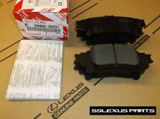 Lexus IS250 (2014-2015) OEM Genuine REAR BRAKE PADS / PAD SET 04466-30281