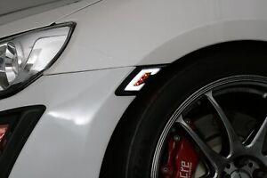 For 2013-2019 Toyota 86 Scion FRS Subaru BRZ LED Side Marker Smoke DRL White