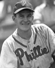 1946 Philadelphia Phillies Del Ennis Glossy 8x10 Photo Print Baseball Poster