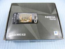 Nokia N95 8GB Schwarz! Ohne Simlock! TOP ZUSTAND! OVP! RAR! IMEI gleich!