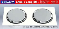 Set of 2 Alkaline Button Cells AG7, 100%25 compatible with V399