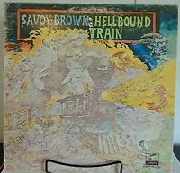 Savoy Brown -Hellbound Train-1972  Parrot -#XPAS 71052-Rock Vinyl LP - EX/VG+