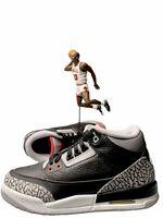 Nike Air Jordan 3 Retro 'Black Cement' 2018 Size 6.5Y 854261 001