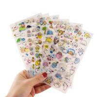 6Pcs Cute Cartoon Korean Decorative Stickers Adhesive DIY Sticker Stickers K1Z6