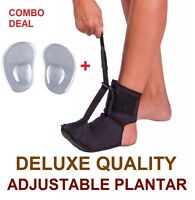 DEAL Adjustable Plantar Fasciitis Foot Brace Foot Pain Toes Sports Night Splint