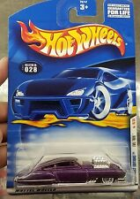 2001 Hot Wheels #28 Purple Evil Twin with Lace Wheels