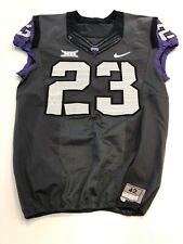 Game Worn Used Nike TCU Horned Frogs Football Jersey Size 42 #23