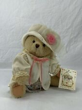 "Hallmark Mary Bears Mary-Mary Bearworthy 14"" Jointed Tan Teddy Dress Hat Plush"