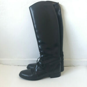 Ariat 55101 Heritage Equestrian Leather Riding Boots Med/Reg Size 9.5 Women