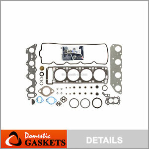 Fits 81-89 Chrysler Dodge Mitsubishi Plymouth 2.6L SOHC Head Gasket Set G54B