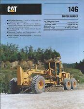 Equipment Brochure - Caterpillar - 14G - Motor Grader - c1993 (E6215)