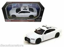 MotorMax 2011 DODGE CHERGER PURSUIT POLICE WHITE 1/24 DIECAST CAR 76934