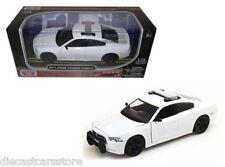 MotorMax 2011 DODGE CHERGER PURSUIT POLICE WHITE 1/24 DIECAST CAR 76934