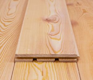 Muster! Massivholzdielen 19 x 134 mm, Parkett für Innen, Sibirische Lärche VEH A