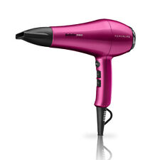 BaByliss PRO PowerLite Professional Hair Dryer Pink Lightweight Powerful 1900W