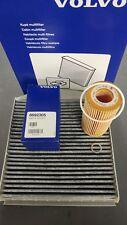 Genuine Volvo Oil Filter, Washer and pollen filter V70, S60, XC90,V50,S40, V40.