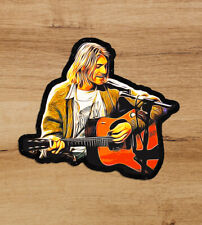 Kurt Cobain Nirvana Grunge Unplugged Seattle 3' high-quality decal vinyl sticker