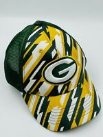 Unique Green Bay Packers Zubaz/Mesh SnapBack Style Hat