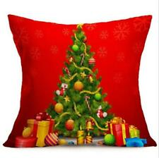 Household Products Reindeer Xmas Home Textiles Holiday Products Pillowcases W