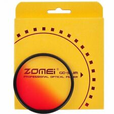 Zomei Gradient Red Filter Ultra Slim Gradual Color Filter GC-Red 40.5-82mm