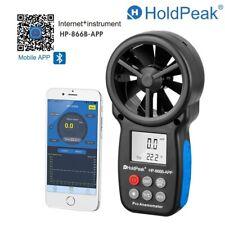 Digital Anemometer Wind Speed Meter Air Flow Lcd Gauge Handheld 03 30ms App