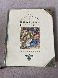 Brambly Hedge The Four Seasons Of Book Jill Barklem Hardback