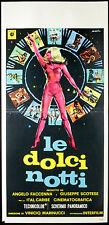 CINEMA-locandina LE DOLCI NOTTI - a.faccenna,g.scotese V. MARINUCCI