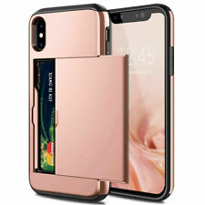 Wallet Case Credit Card ID Holder Slim Case Phone Cover for iPhone X XR XS MAX
