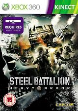 Steel Battalion Heavy Armor XBOX 360 Video Game Original UK Release Mint Cond