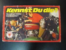 ASS Kennst Du die? Wer weiß am meisten über Motorräder? (120 motoren / brommers)