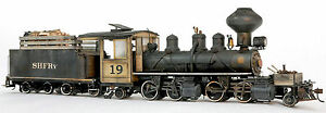 BANTA MODELWORKS BACHMANN On30 2-4-4-2 WOOD CAB CONVERSION Unpainted Kit BMT2139