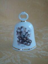 M.J. Hummel Porcelain Winter Fun Collector Bell Reutter