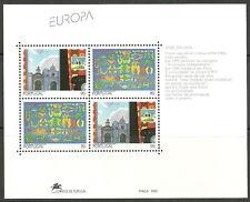 Portugal - Zeitgenössische Kunst Block 93 postfrisch 1993  Mi.1959-1960