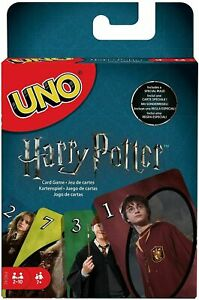 Uno Harry Potter Family Card Game - Multi-Colour FNC42 Mattel Games NEW