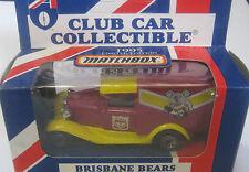 Matchbox 1/64 AFL  Australia  Aussie Rules Brisbane Bear