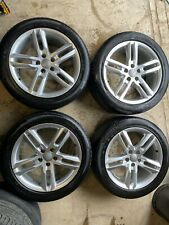 "18"" Genuine Audi A6 C7 4G S Line Alloy Wheels 245/45ZR18 Tyres 4G0601025BL"