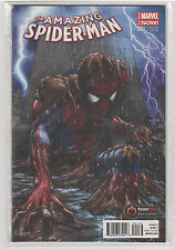 Amazing Spiderman Volume 3 #1 Gamestop Powerup Rewards Greg Horn variant 9.6