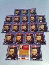 *****Judah Benjamin*****  Lot of 20 cards / 1992 Starline Americana