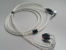 1.2m OCC Silver Plated Cable Audio Technica ATH-IM50 IM70 IM01 IM02 IM03 IM04