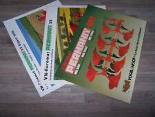 Lot de 3 Prospectus/Brochure/Prospekt agricoles/tracteurs PERMANIT (524)