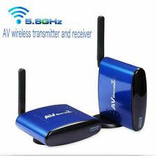 NEW 5.8GHz SD AV TV Wireless Transmitter Receiver + Sender Audio Video 200m